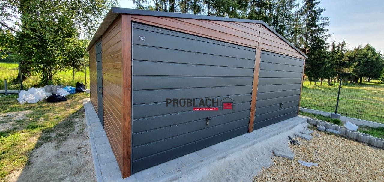 Garaż 6×5,80 dwuspad PREMIUM