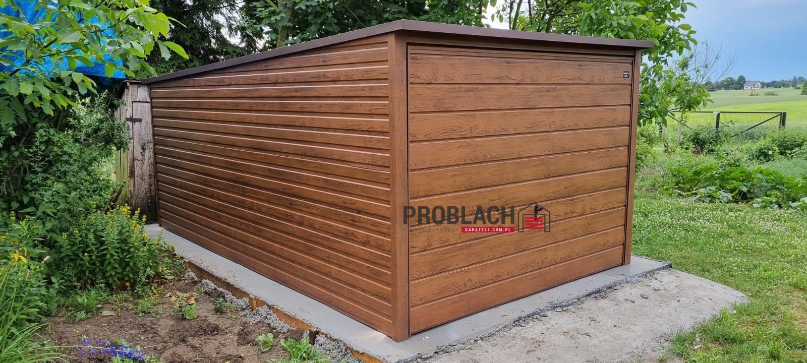 Garaz 3×5 Spad w tył w wersji PREMIUM