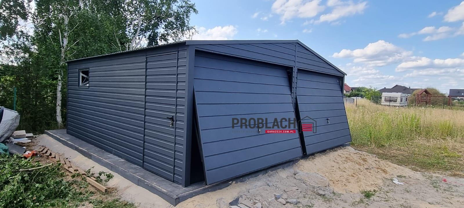 Garaz 6×5,8 dwuspad GRAFIT PREMIUM