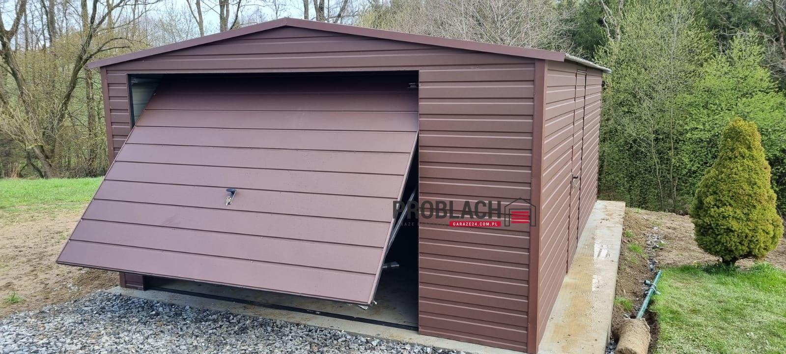 Garaż 4×5,5 DWUSPAD